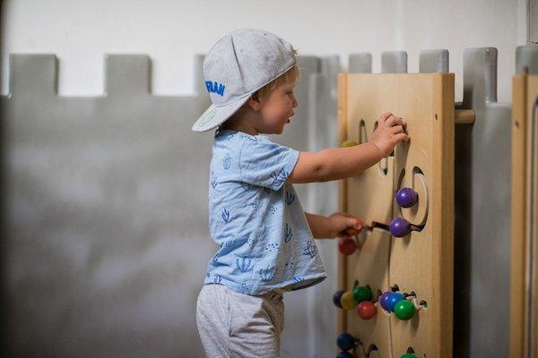 The children's play room Hotel Pustertalerhof