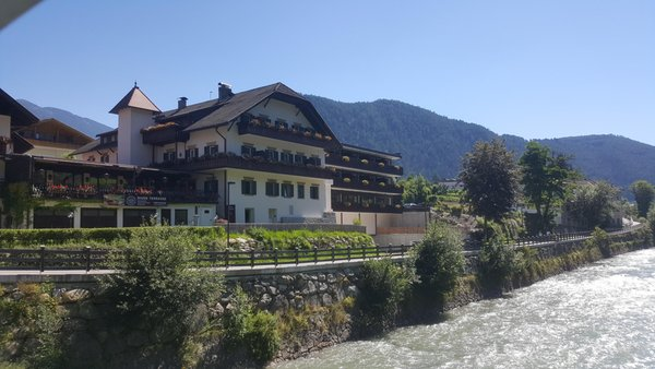 Photo exteriors in summer River Hotel Post