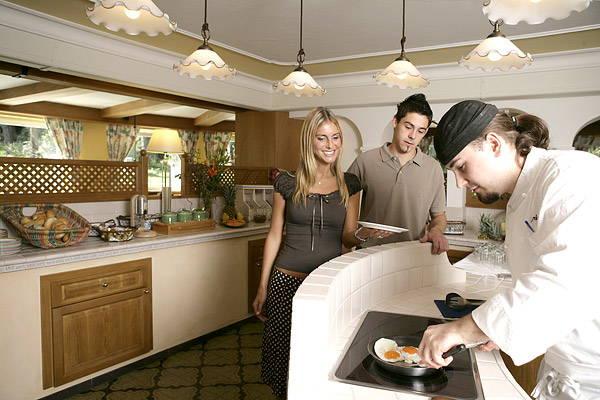 La colazione Hotel Burgfrieden