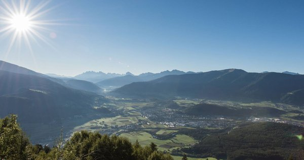 Panoramic view Gais (Brunico / Bruneck and surroundings)