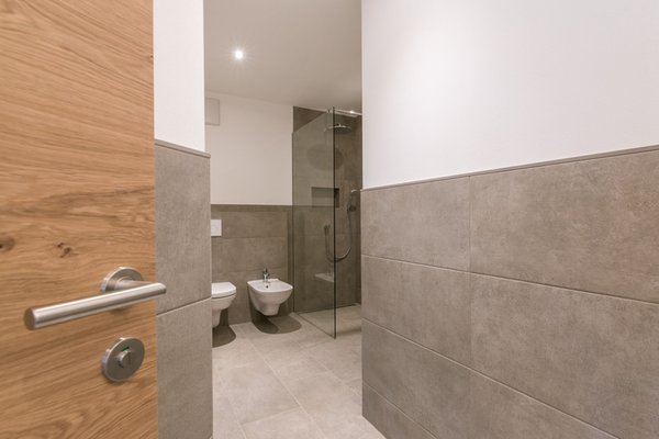 Photo of the bathroom Apartments in hotel Panorama