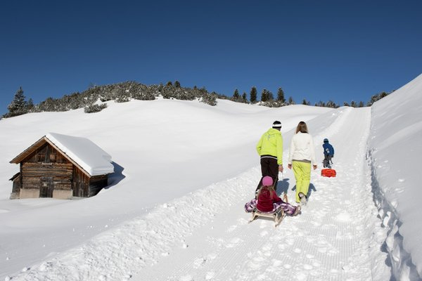 Winter activities Plan de Corones - Kronplatz