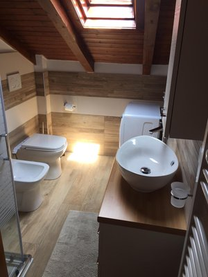 Foto del bagno Appartamento La Mansarda di Sabina