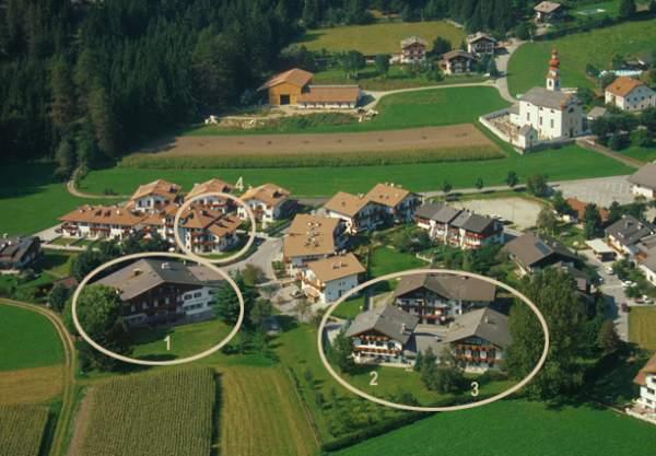 La posizione Hotel Reichegger Villa Ottone