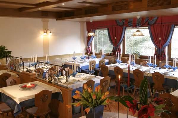 Il ristorante Villa Ottone Reichegger