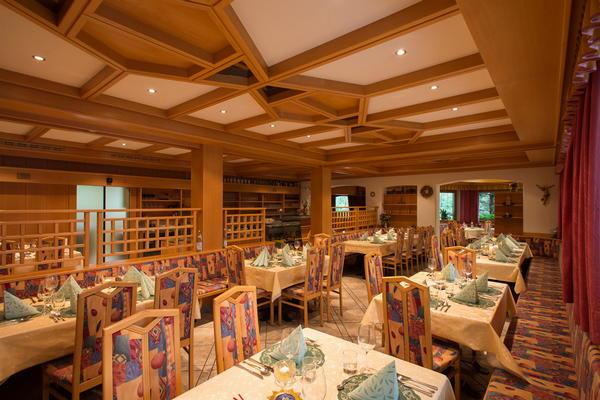 Il ristorante Villa Ottone Uttenheimer Hof