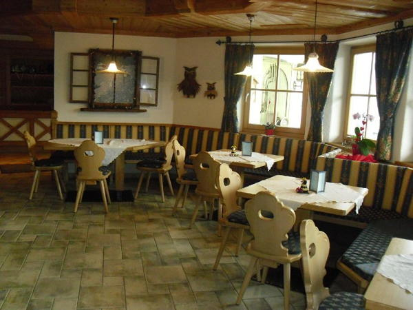 Il ristorante Villa Ottone Bauhof