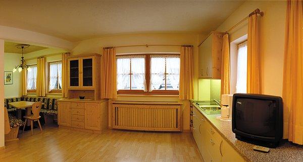 La zona giorno Appartamenti Anewandterhof