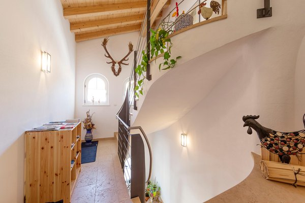 La zona giorno Appartamenti in agriturismo Bäckhof