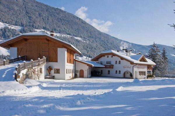 Foto invernale di presentazione Appartamenti in agriturismo Bäckhof