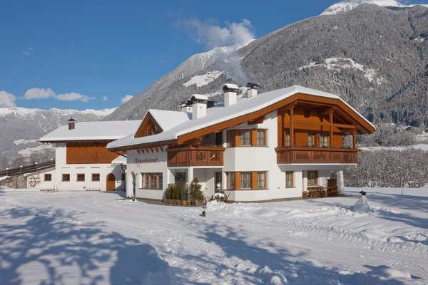 Foto esterno in inverno Bäckhof