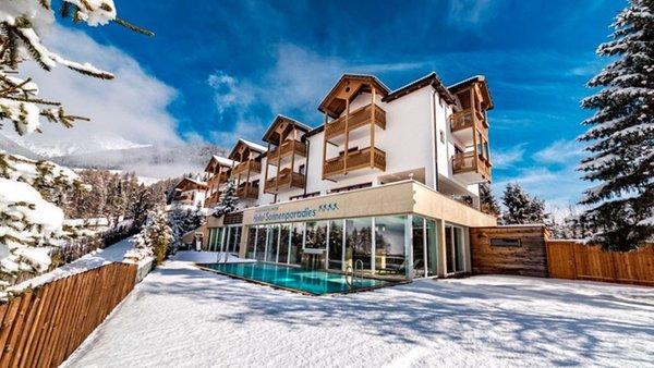 Foto invernale di presentazione Hotel Sonnenparadies
