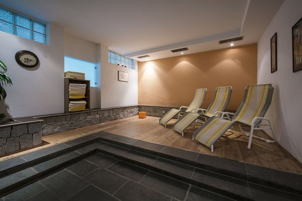 Photo of the wellness area Hotel Dolomitenblick alps boutique hotel