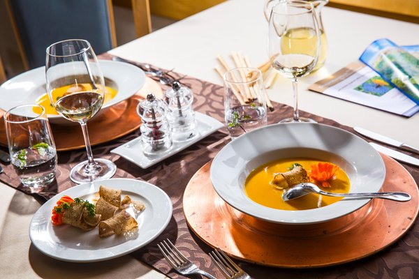 Recipes and gourmet-dishes Dolomitenblick alps boutique hotel
