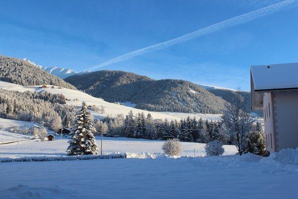 Foto esterno in inverno Moserhof