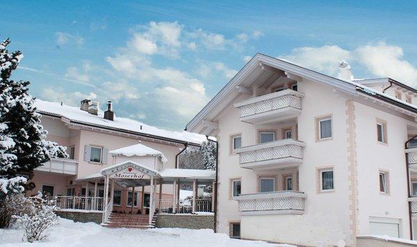 Foto invernale di presentazione Hotel Moserhof