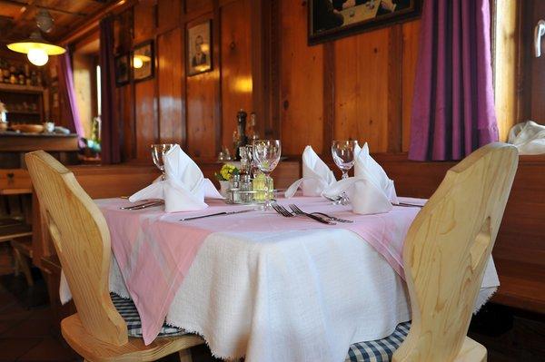 Il ristorante Terento Neuwirt