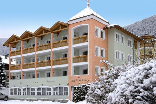 Foto invernale di presentazione Diana - Residence 3 stelle