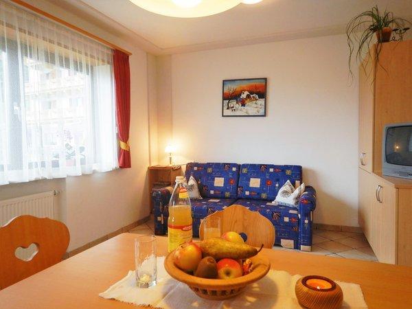 La zona giorno Alpegger - Appartamenti in agriturismo 3 fiori