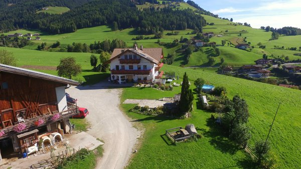 Lage Ferienwohnungen auf dem Bauernhof Leimgruberhof Terento