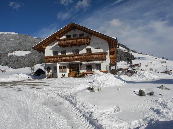 Winter Präsentationsbild Ferienwohnungen auf dem Bauernhof Leimgruberhof