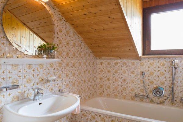 Foto del bagno Appartamenti in agriturismo Mair am Graben
