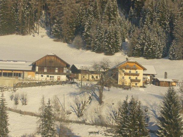 Foto esterno in inverno Tötscherhof