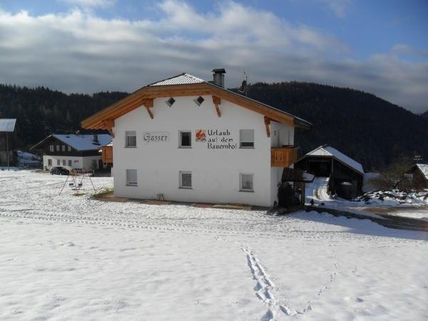 Winter Präsentationsbild Gasserhof Apartments in Margen - Ferienwohnungen auf dem Bauernhof 2 Blumen