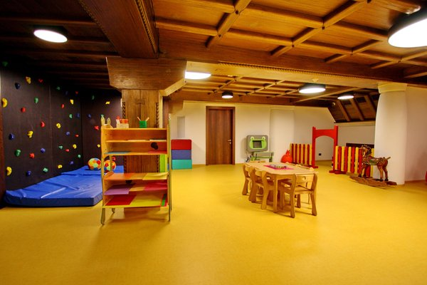 The children's play room Romantik Arthotel Cappella