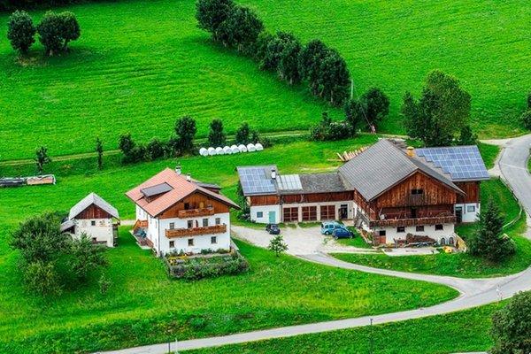 Lage Ferienwohnungen auf dem Bauernhof Huberhof Terento