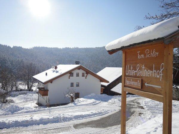 Foto esterno in inverno Unterleitnerhof