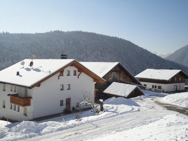 Foto invernale di presentazione Unterleitnerhof - Appartamenti in agriturismo 1 fiore