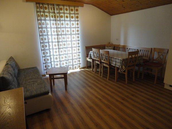 La zona giorno Unterleitnerhof - Appartamenti in agriturismo 1 fiore