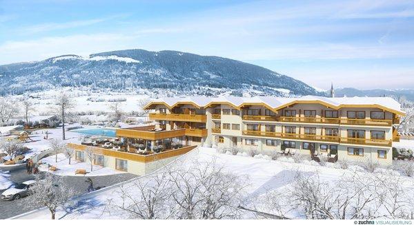 Foto invernale di presentazione Winklerhotel Sonnenhof