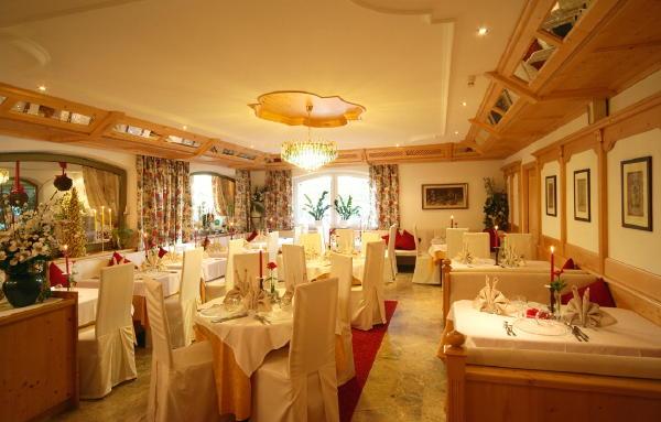 Il ristorante Falzes Kristall