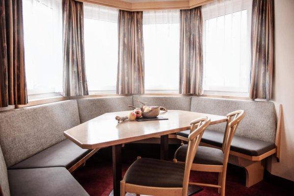 La zona giorno Appartements & Wellness Winkler - Aparthotel 3 stelle