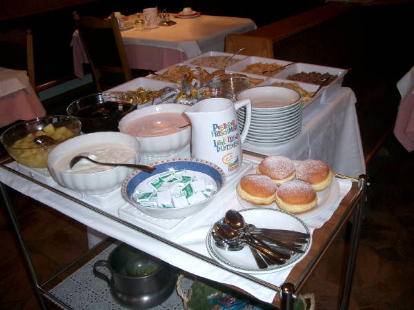 The breakfast Olga - Small hotel 2 stars