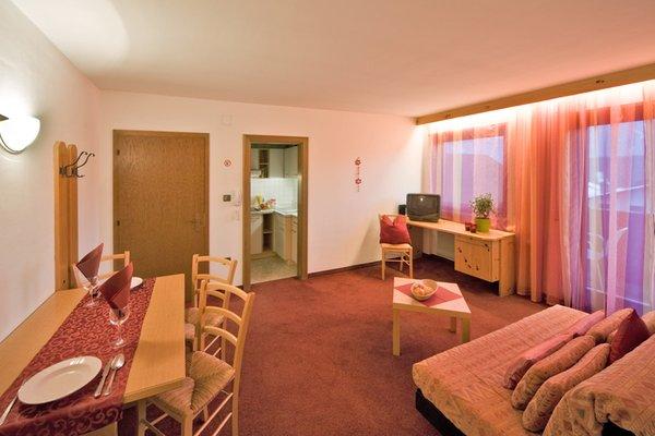 La zona giorno Appartements Erika - Appartamenti 3 soli