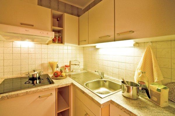 Foto della cucina Appartements Erika