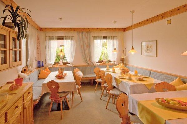 Il ristorante Falzes Appartements Erika