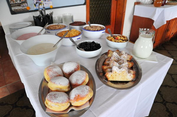 Das Frühstück Harrasser - Pension 2 Sterne