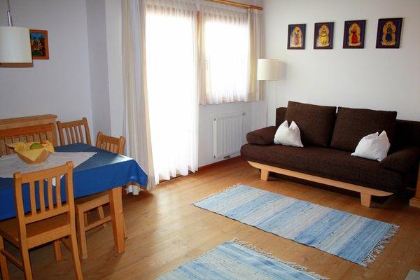 The living area Farmhouse apartments Gasserhof