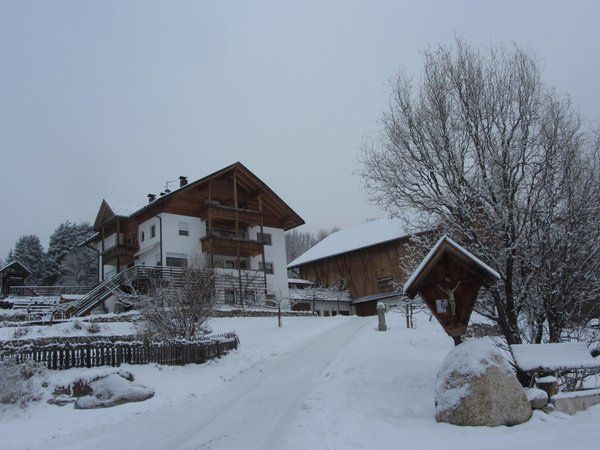 Winter presentation photo Farmhouse apartments Gasserhof