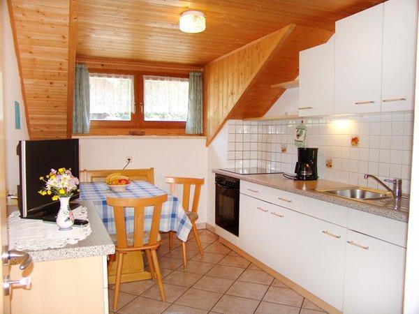 La zona giorno Reiterhof Grasspeinten - Appartamenti in agriturismo 2 fiori