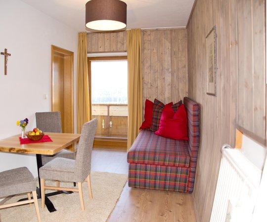 The living area Reiterhof Grasspeinten - Farmhouse apartments 2 flowers