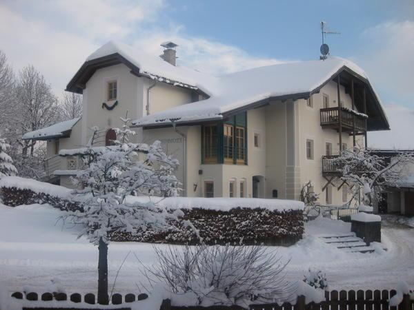 Photo exteriors in winter Grünbacher