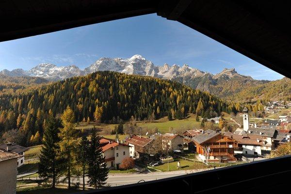 Panoramic view Val di Zoldo - Mareson