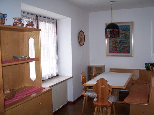 Il ristorante Alleghe Residenza Katinanna