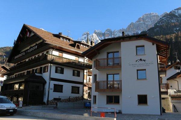 Foto Außenansicht im Sommer Europa Mountain Apartments