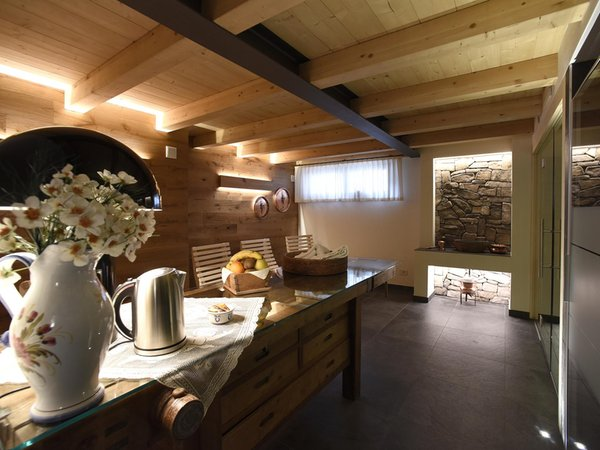 Foto vom Wellness-Bereich Europa Mountain Apartments